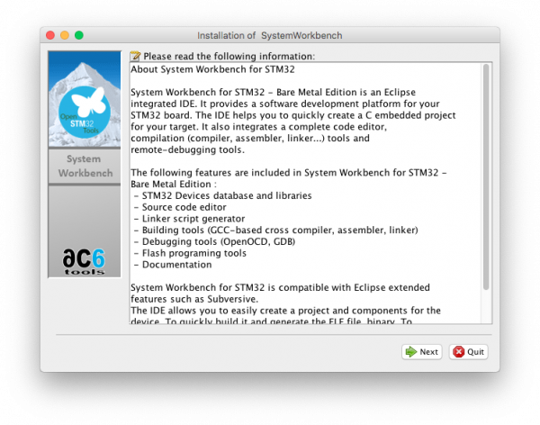 SW4STM32 installer(1)